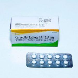 Carvedilol 12.5mg