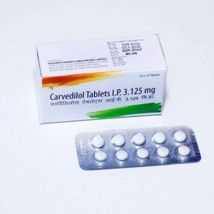 Carvedilol 12.5mg TAB