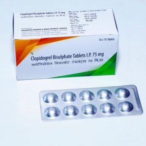 Clopidogrel Bisulphate 75mg TAB