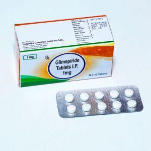 Glimepiride 1mg TAB