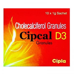CIPCAL D3 SACHETS